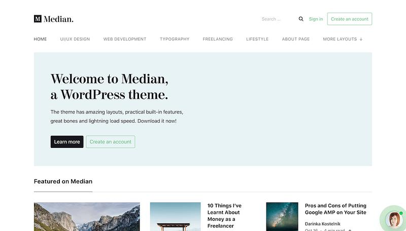 Median Theme