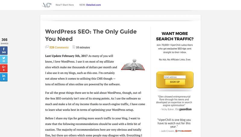Viperchill WordPress Seo