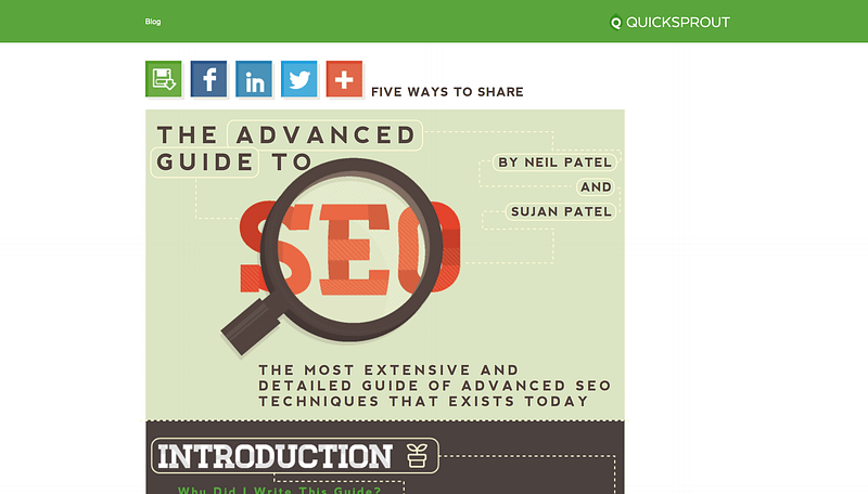 Advanced Seo Quicksprout