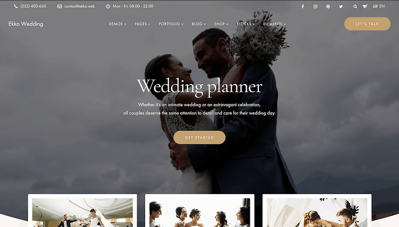 Ekko Wedding Planner