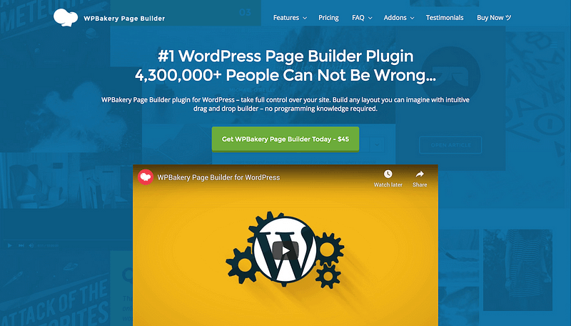 WPBakery Page Builder plugin
