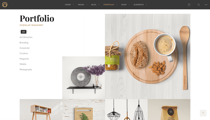 Overlap WordPress theme