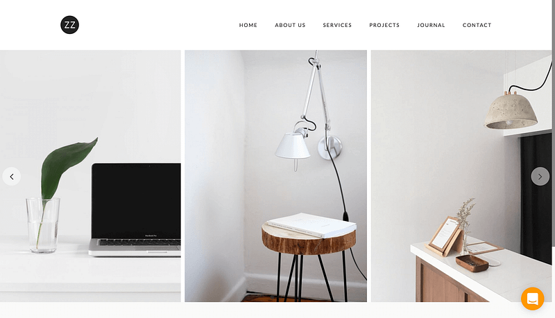 Dazzle WordPress theme