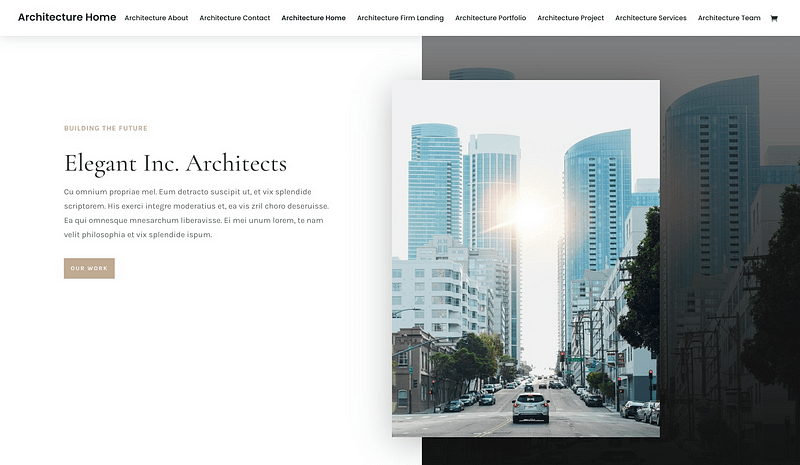 Divi Architect