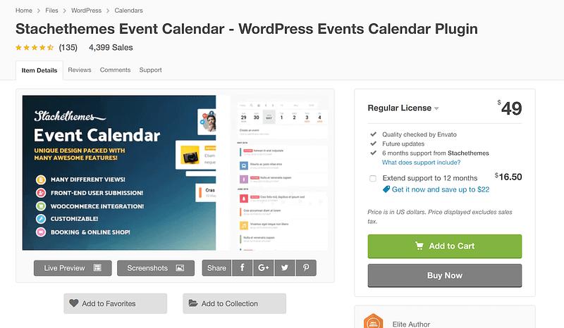 Stachethemes Event Calendar