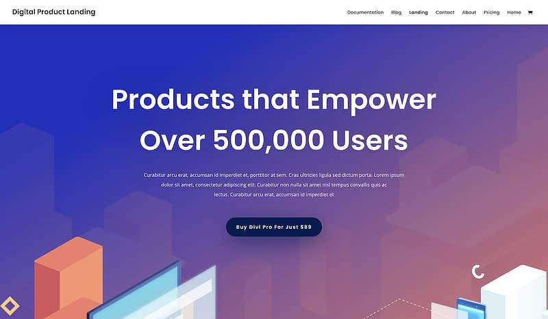 Divi knowledgebase design