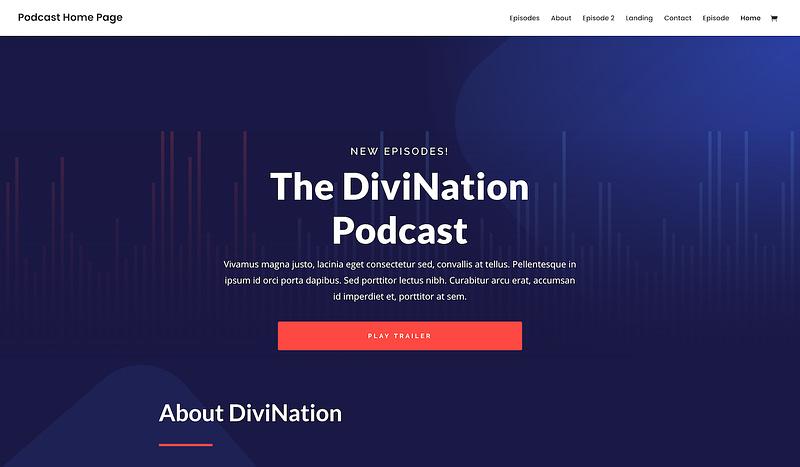 Divi Podcast