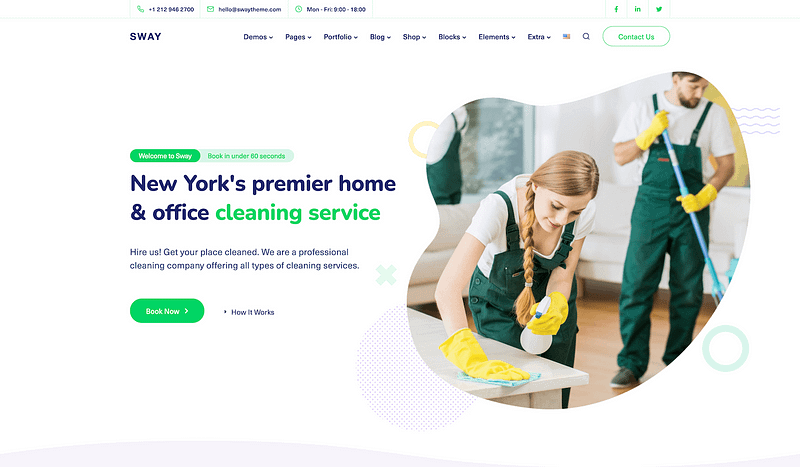 Sway Cleaning template