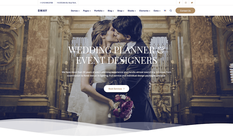 Sway wedding planner template