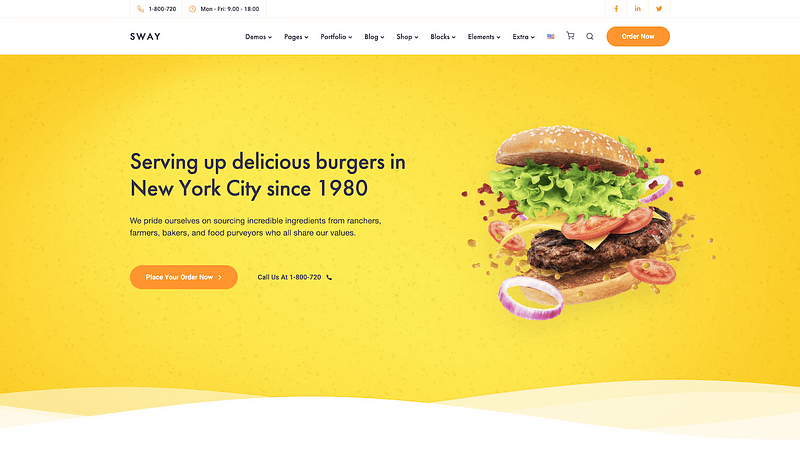 Sway Fast Food design