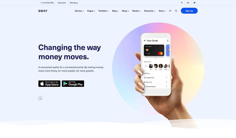 Sway app template