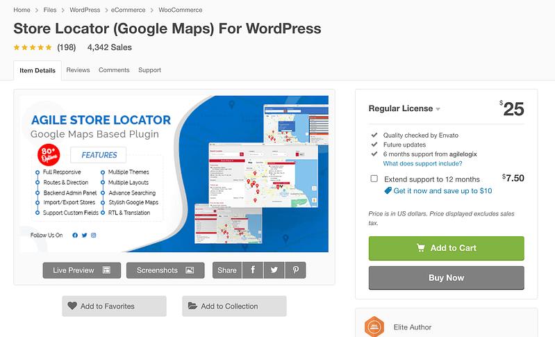 Store Locator For WordPress