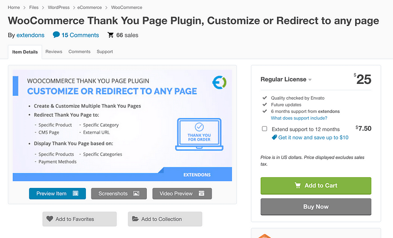 WooCommerce Thank You Page Redirect