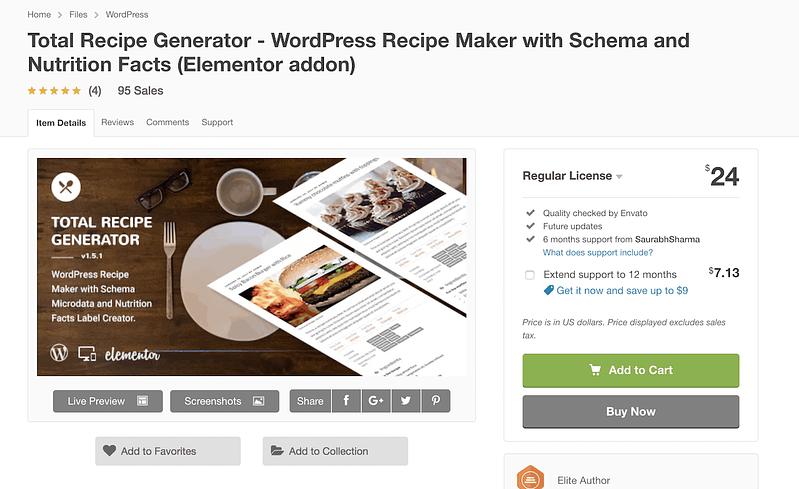 Total Recipe Generator
