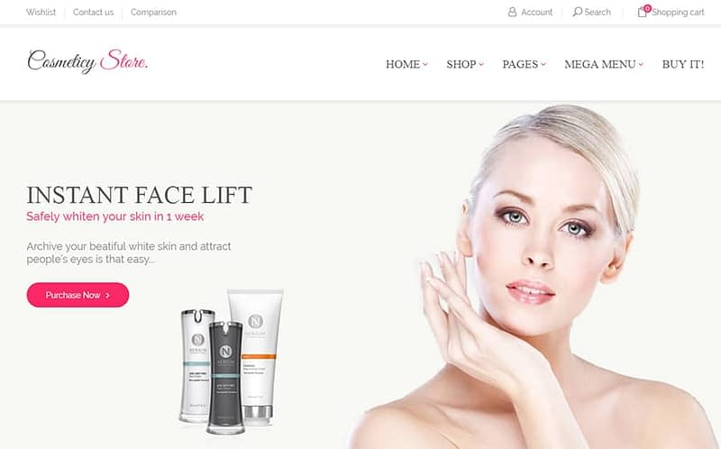 Cosmeticy Store