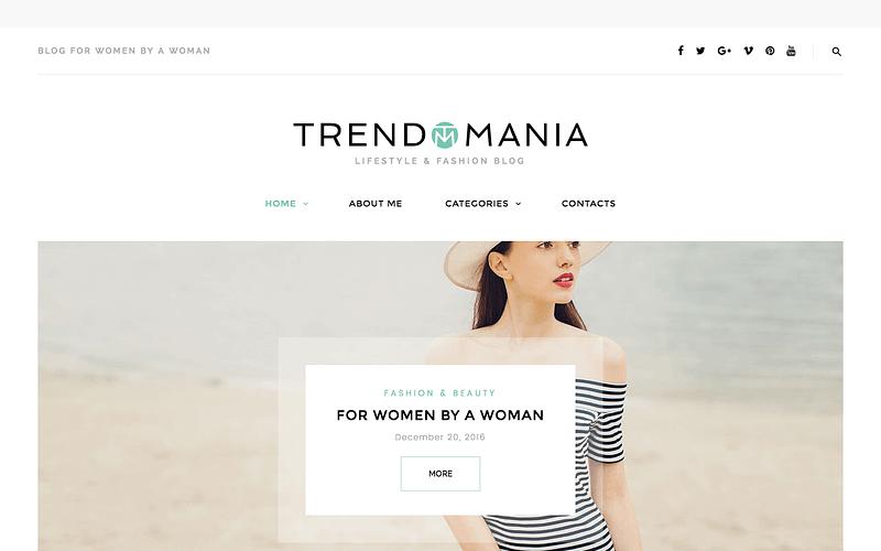 Trendomania fashion theme