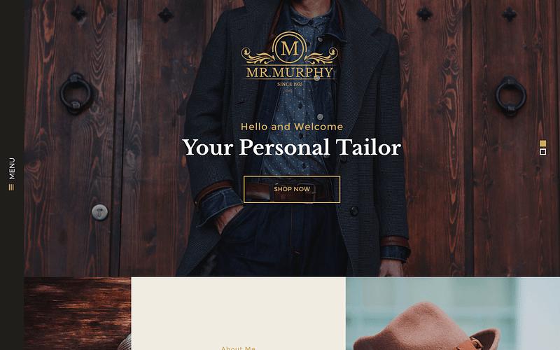 Mr. Murphy WordPress theme