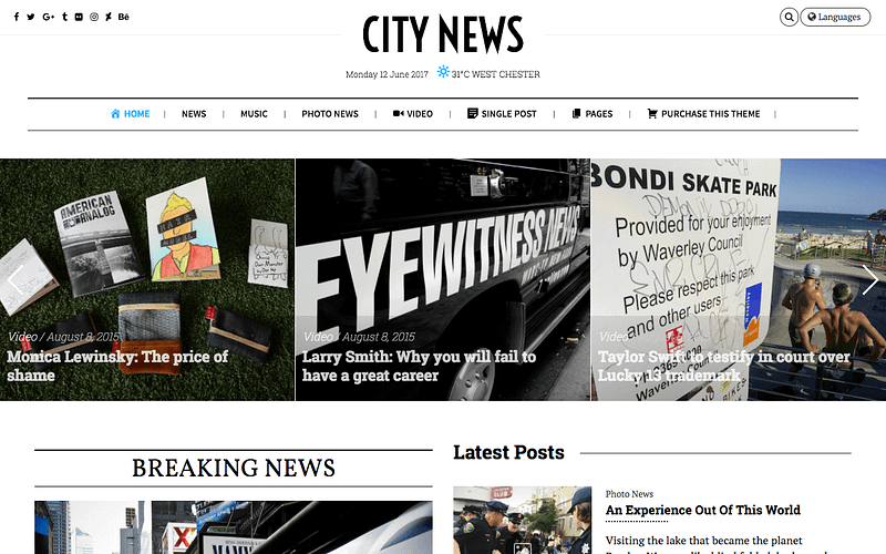 City News theme