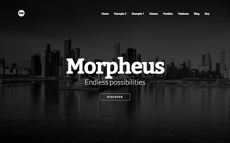 Morpheus ultimate parallax theme
