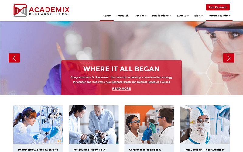 Academix research group theme