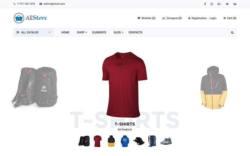 AllStore theme
