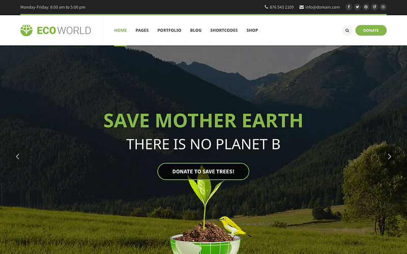 Eco World theme