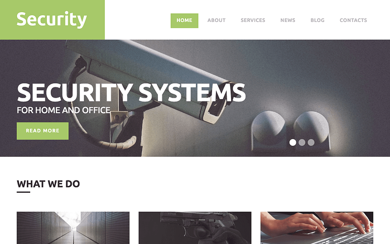 Security WordPress theme