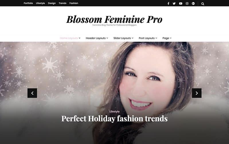 Blossom Feminine Pro WordPress Theme
