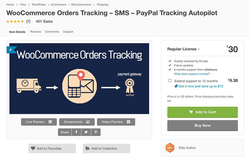 WooCommerce Orders Tracking