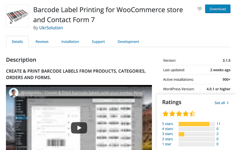 Barcode Label Printing for WooCommerce