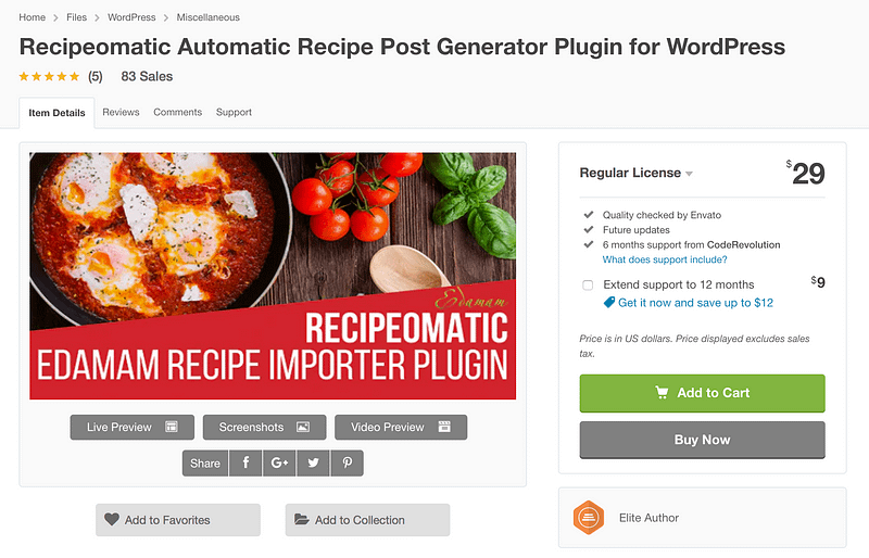 Recipeomatic