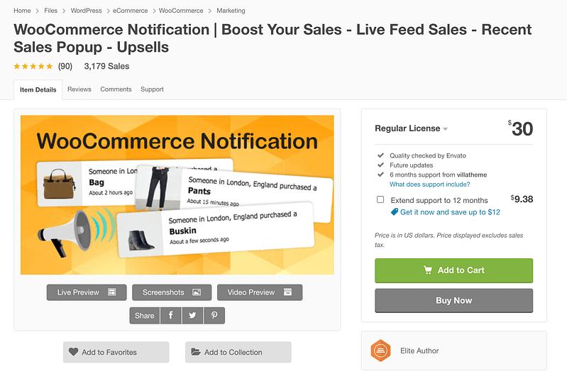 WooCommerce Notifications