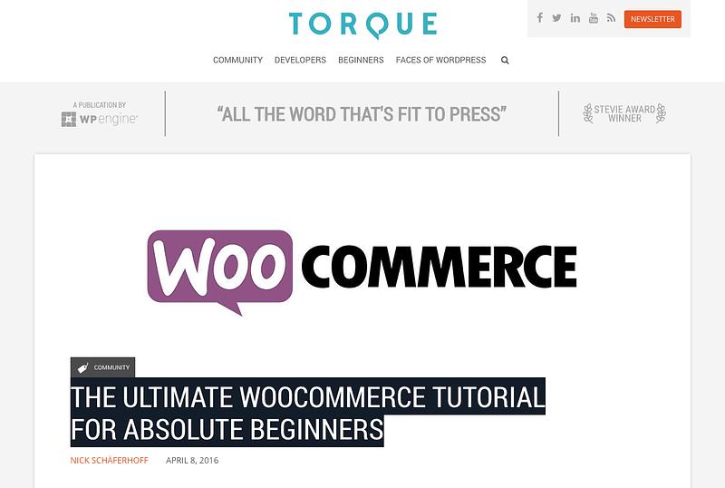 Woocommerce Tutorial
