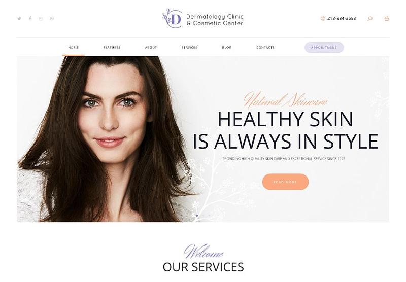 Dermatology Clinic theme