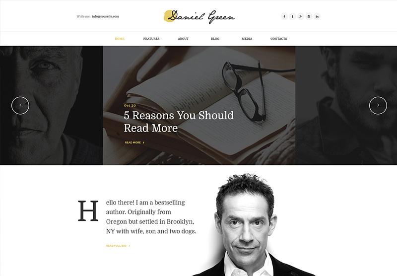 Writers Journalists Theme