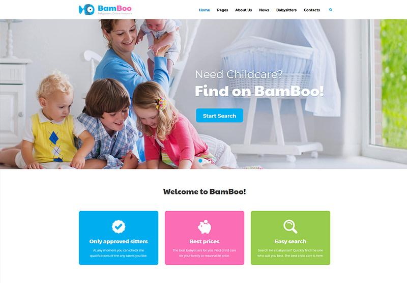 Bamboo WordPress theme