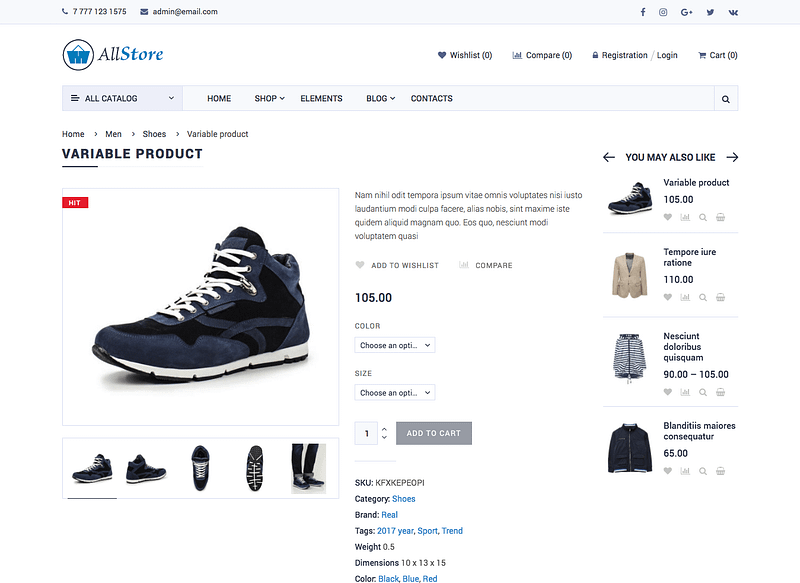Allstore Product