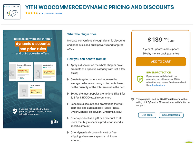 YITH WooCommerce Dynamic Pricing & Discounts