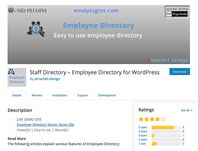 Staff Directory