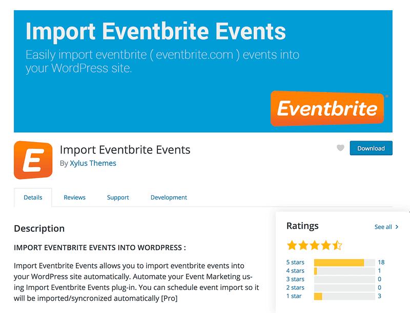 Import Eventbrite Events