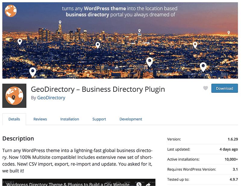 GeoDirectory