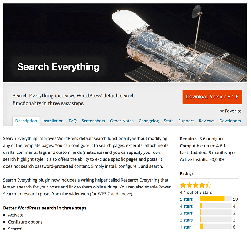Search Everything