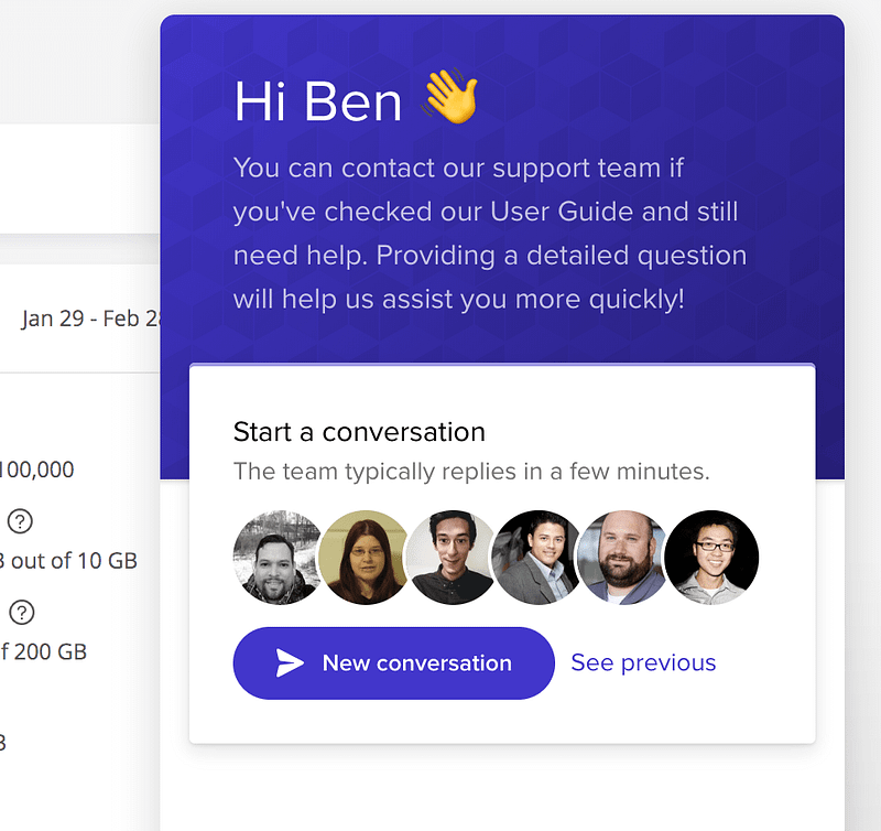 Kinsta Live Chat