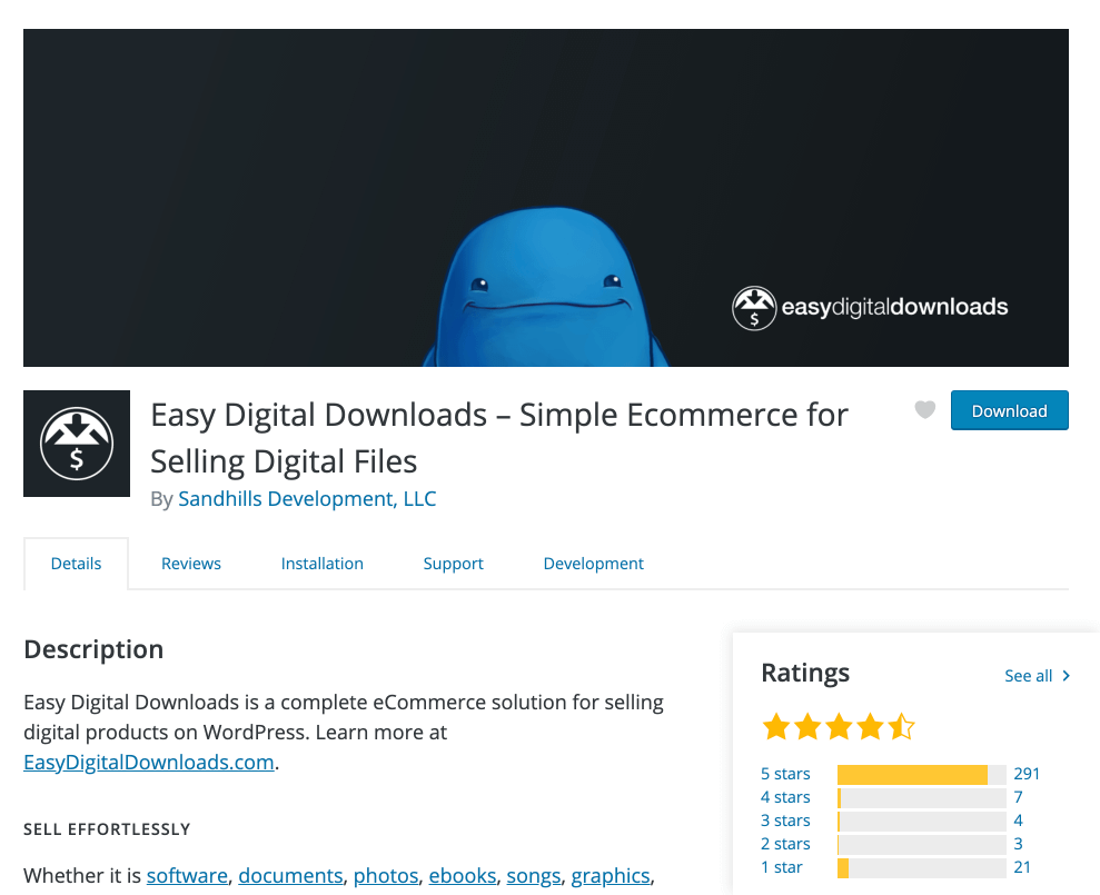 Easy Digital Downloads Plugin