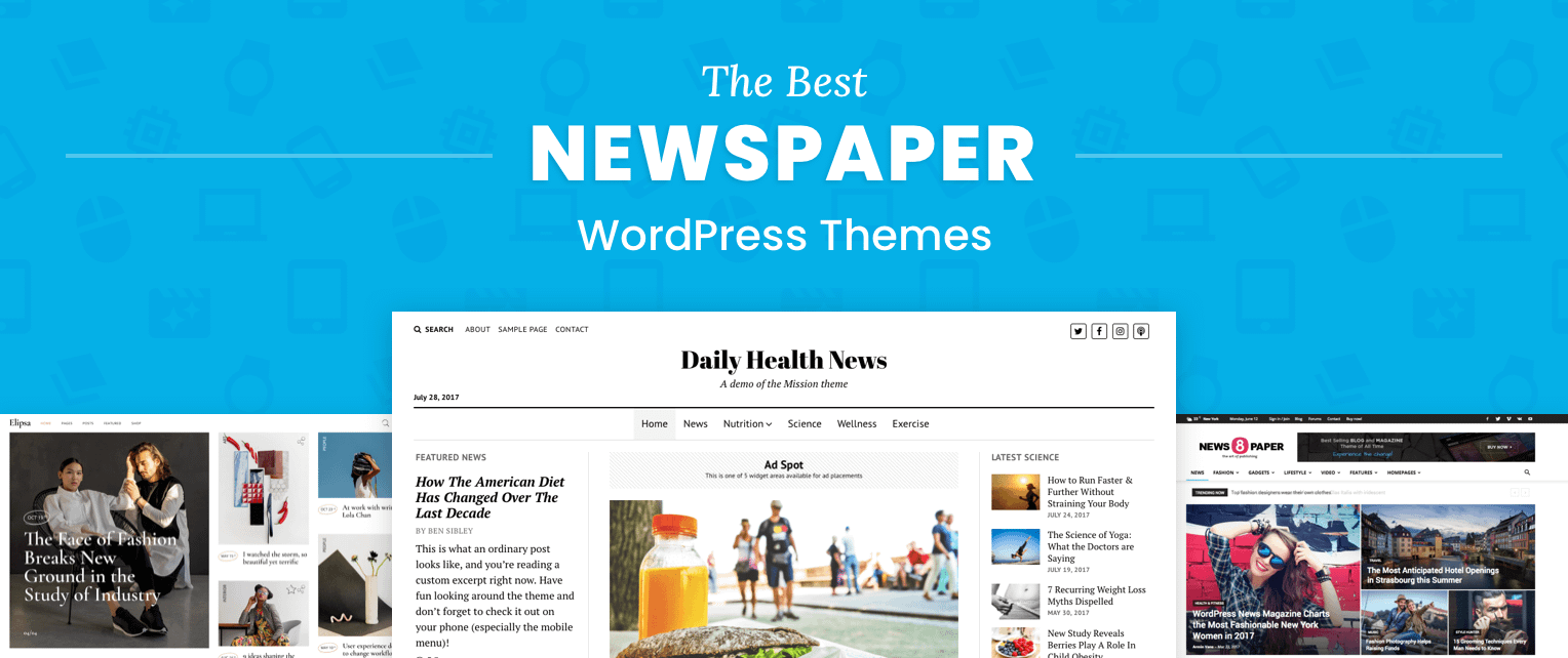 The 23 Best WordPress Newspaper Themes for Serious Publishers Throughout Which One Is Better Free Templates Versus Premium Templates
