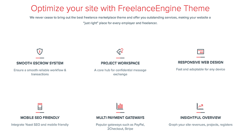 FreelanceEngine Features