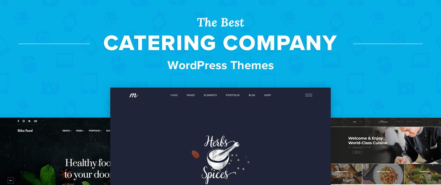 Catering WordPress Themes