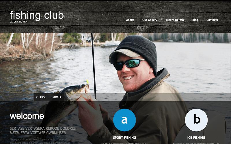 Fishing Club theme
