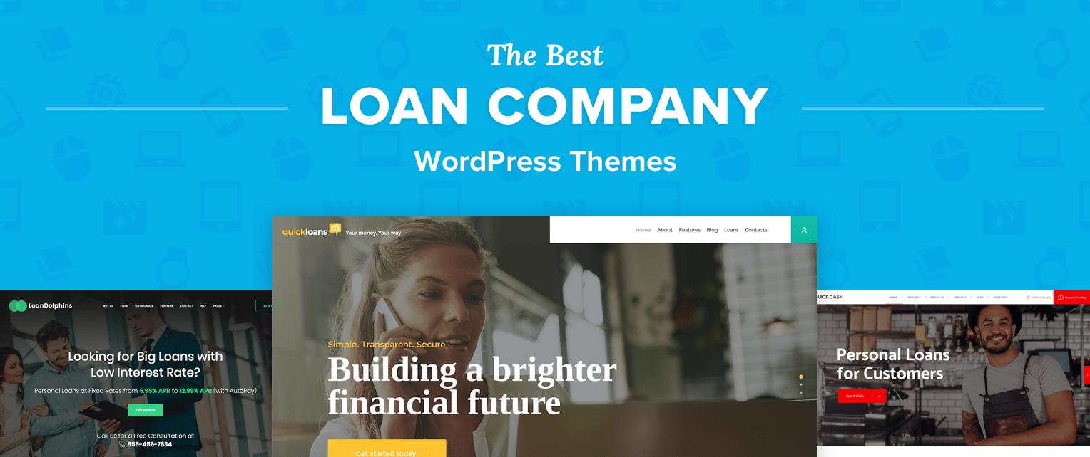 Loan Company WordPress Themes