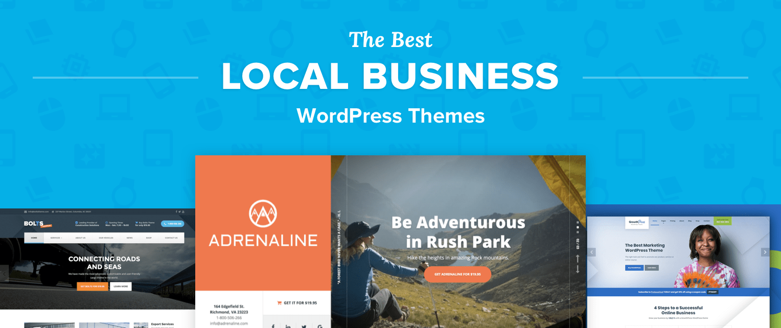 Local Business Wordpress Themes